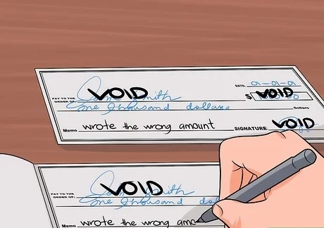 How to Void a Check